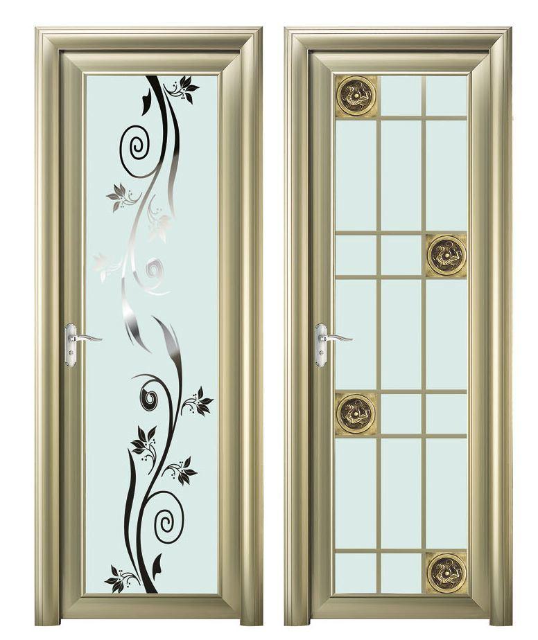 Puertas de interior de aluminio top marco de aluminio de - Puertas plegables de aluminio ...