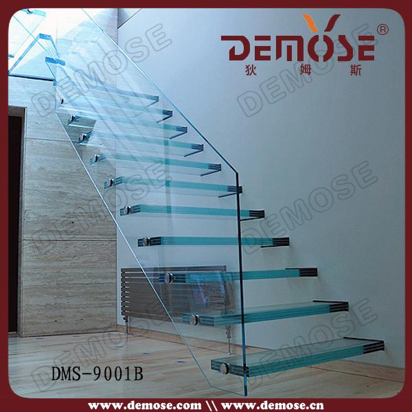 El vidrio templado laminado escaleras dms 9001b el - Escaleras de cristal templado ...
