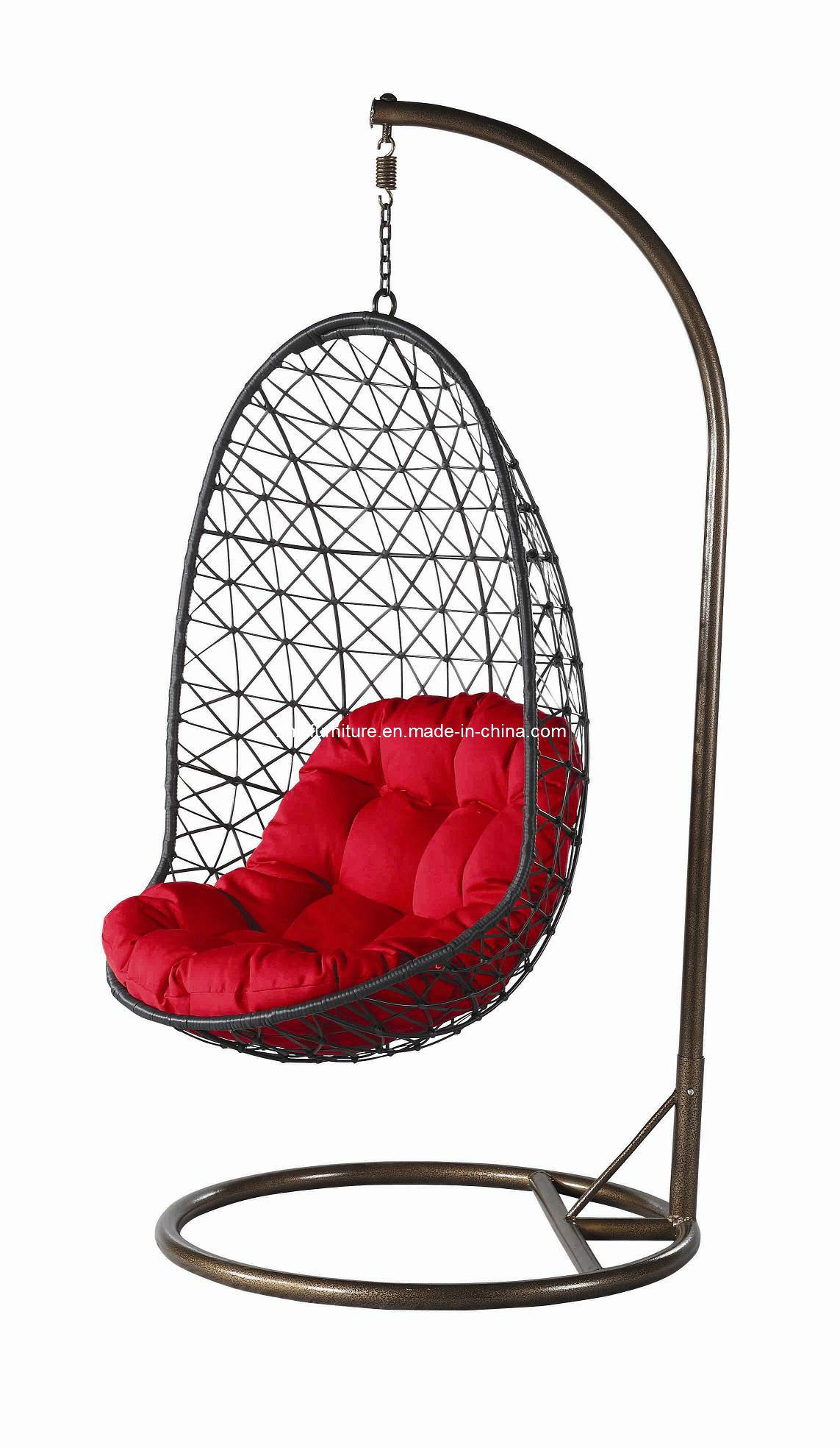 De stoel van de schommeling de hangende hangende stoel van de mand van de rotan lhy15 de - Rotan stoel van de wereld ...