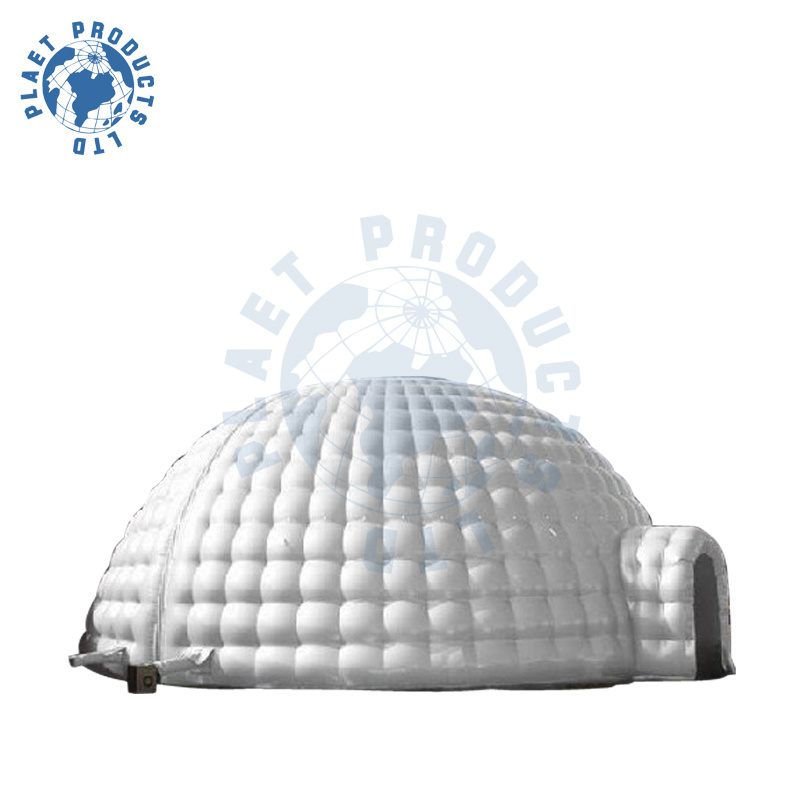 tente gonflable d 39 igloo de pvc 10m plt50 010 tente. Black Bedroom Furniture Sets. Home Design Ideas