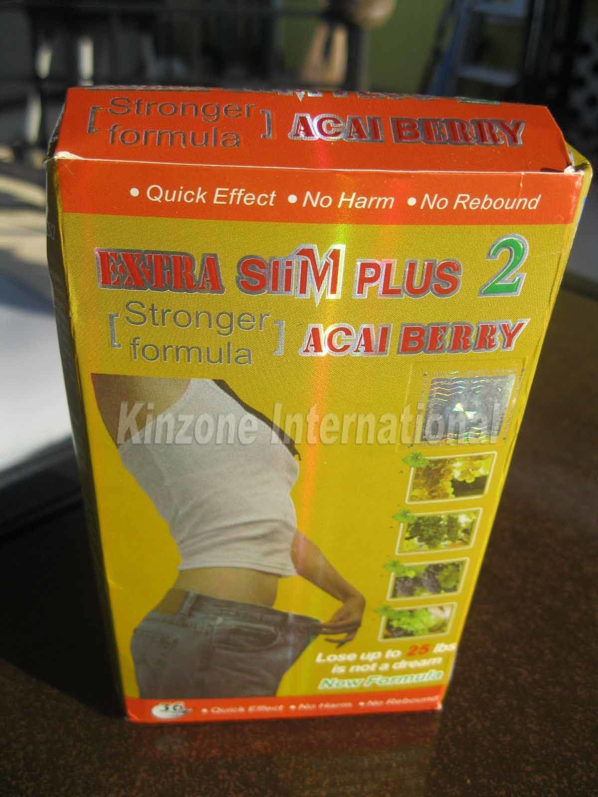 Extra Slim Plus 2 Acai Berry Weight Loss Slimming Product ...