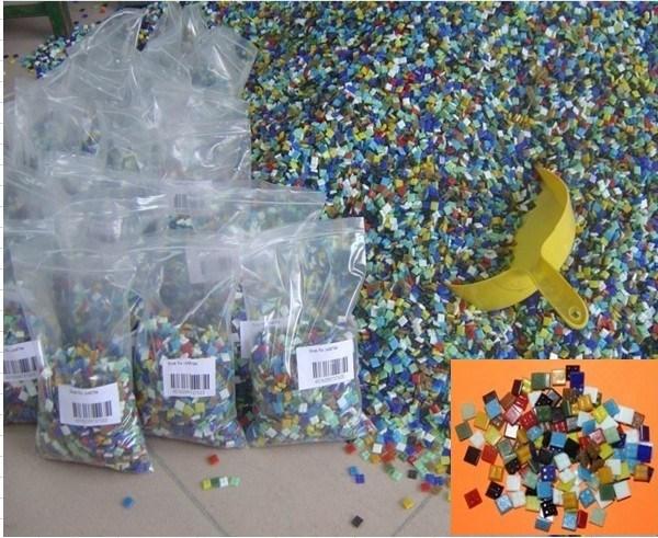 Mini azulejos de mosaico de cristal av 001 mini - Azulejos de cristal ...