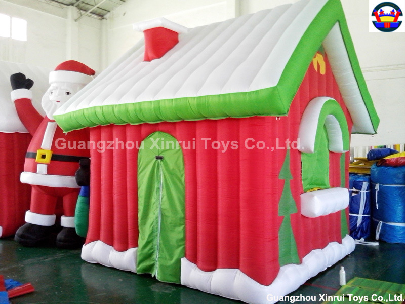 Decoraci n inflable de la navidad de la casa de la navidad for Decoracion china para casas