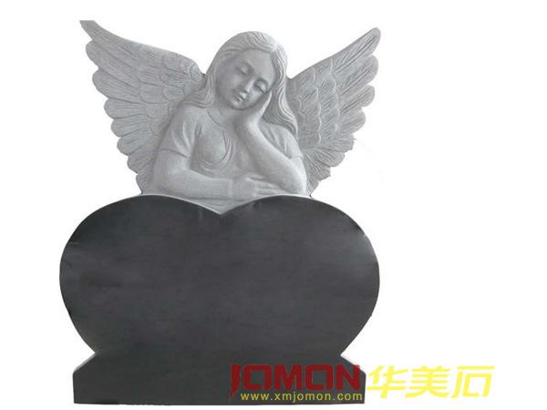 Het monument van het hart van de engel van het graniet for Door het hart van china