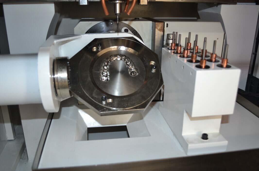 cad dental machine