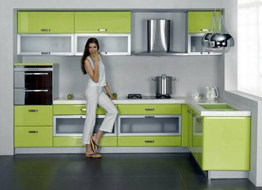 gabinete de cocina americano del mdf del estilo swk002