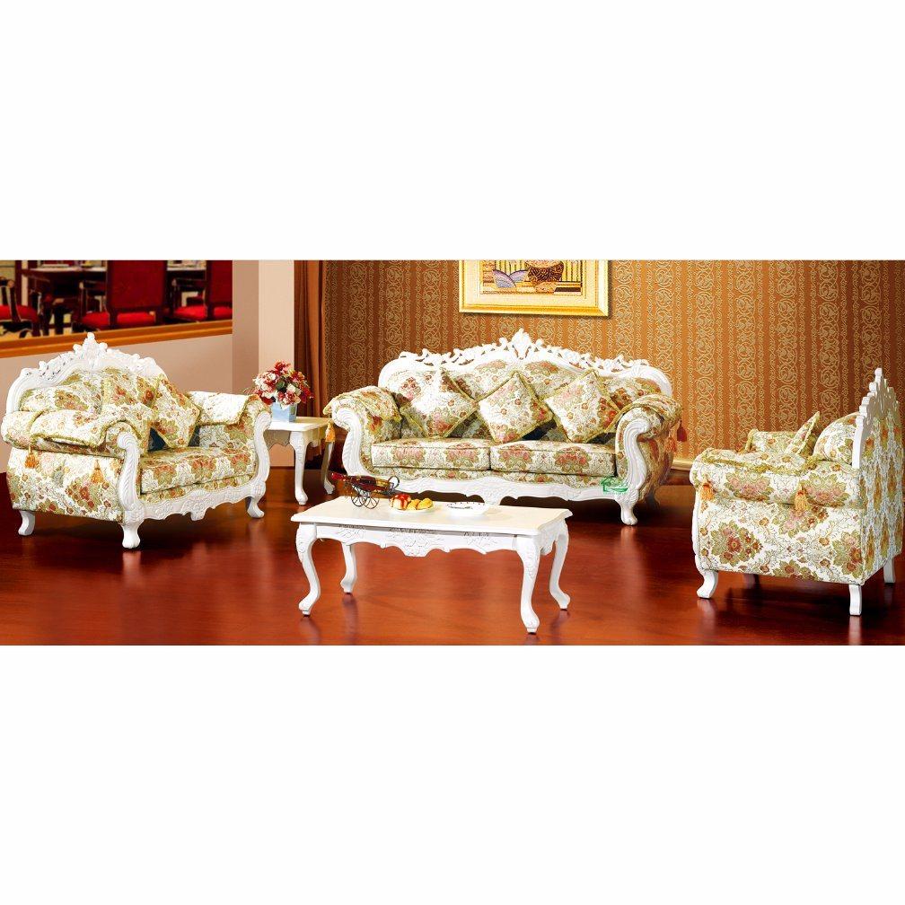 Sofa en bois de tissu pour les meubles la maison d929h for Liste de meuble pour la maison