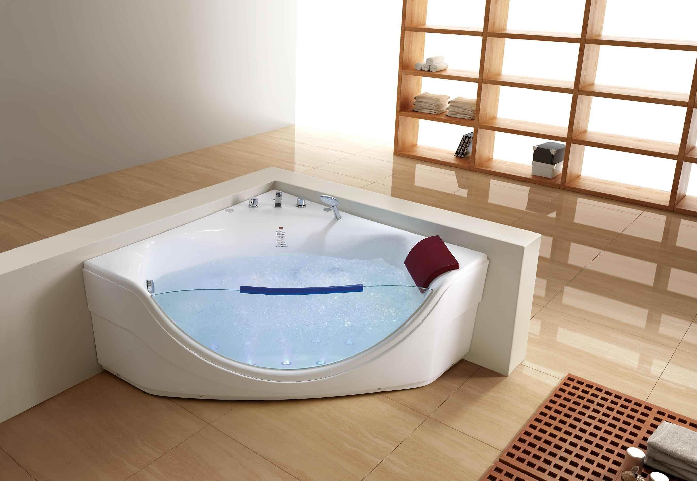 salle de bain jacuzzi moderne. Black Bedroom Furniture Sets. Home Design Ideas