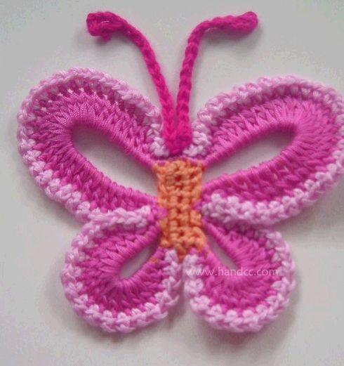 Como hacer una flor en crochet - Imagui