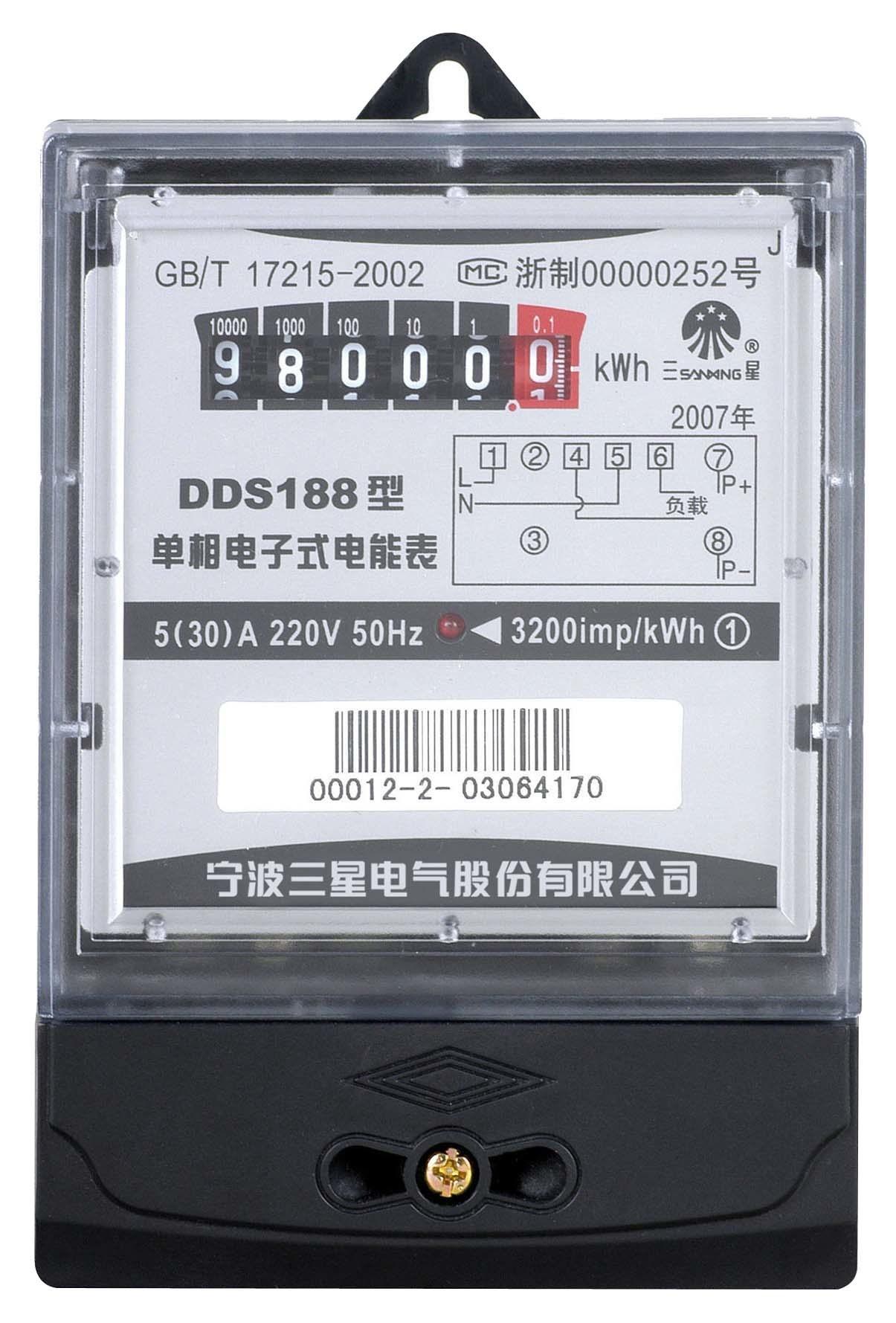 Medidor de est tica monof sico dds188 medidor de for Manipular contador luz digital