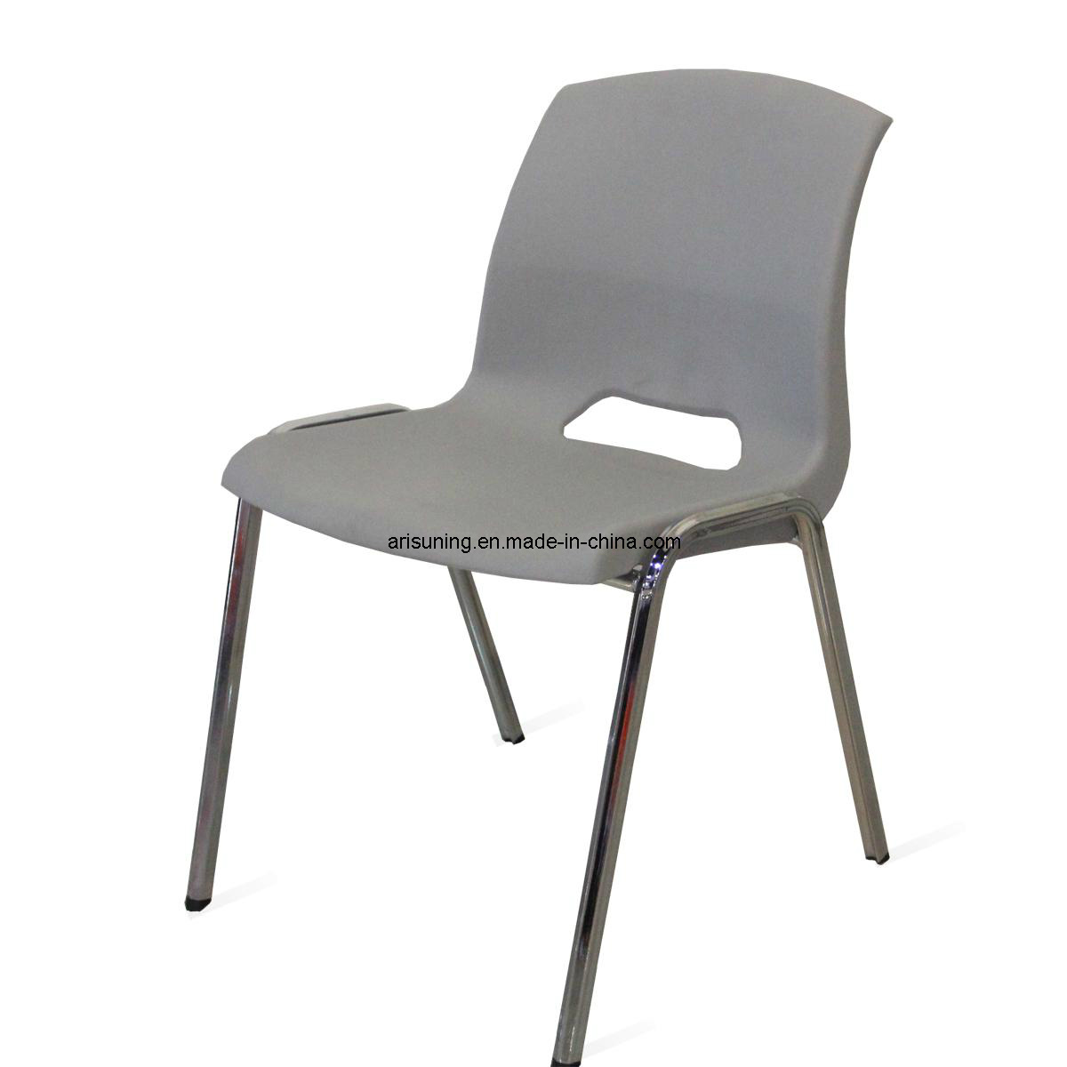 Chaise empilable en plastique 1222 de formation de bureau for Chaise de plastique