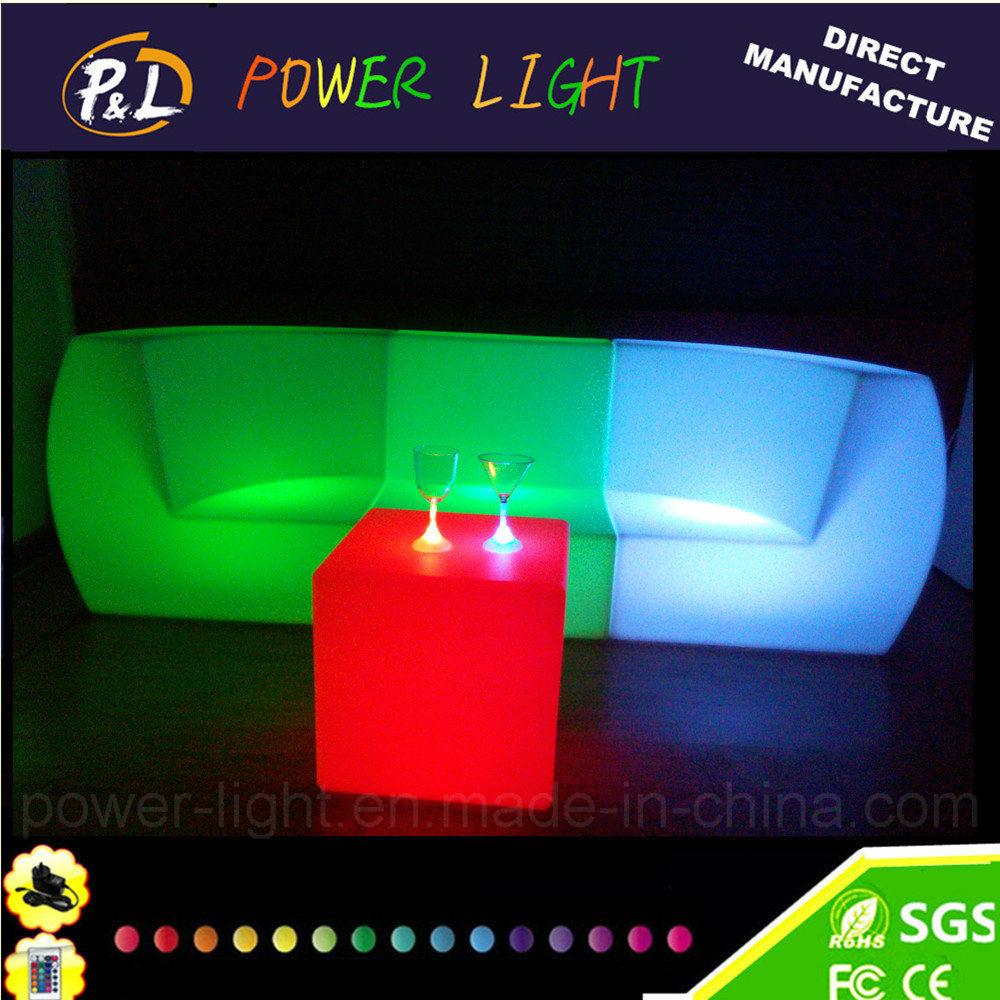 geleuchteter led m bel stab plastiksofa stuhl foto auf de made in. Black Bedroom Furniture Sets. Home Design Ideas
