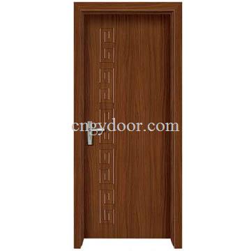Puertas interiores de madera del pvc del modelo cl sico for Puertas de madera para interiores precios