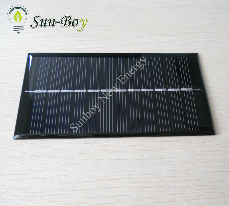 Painel solar epoxy pequeno de resina 1w painel solar for Panel solar pequeno