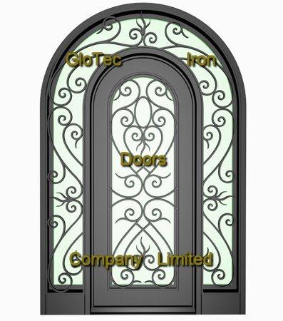 Porte gt new045 de fer travaill porte gt new045 de fer for Jambage de porte