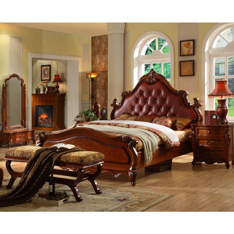 Meubles en bois de chambre coucher lit en bois jpg for Chambre a coucher lit