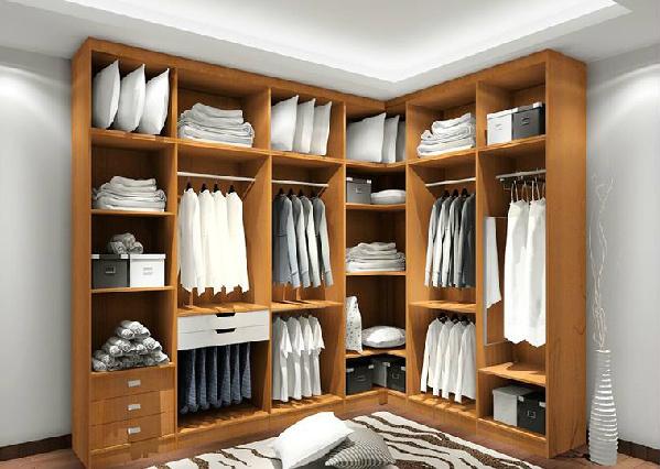 Foto de dise o moderno de la ropa del armario armario - Armarios en l ...