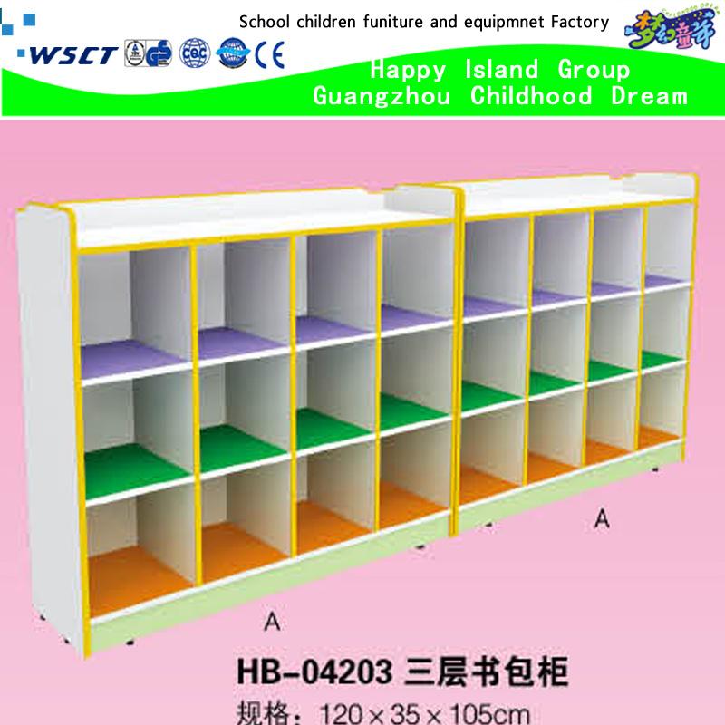 Adesivo Delineador Para Os Olhos ~ Foto de Armazém de armário de sala de aula de madeira barato para crianças em madeira (HB 04203