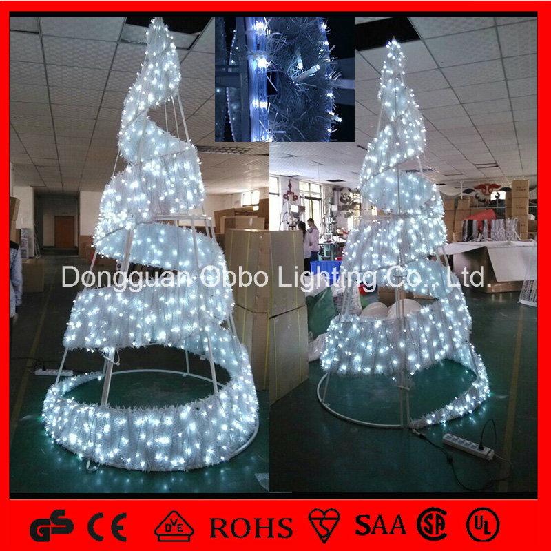 der china 2015 neue weihnachtsbaum leuchte art spirale led. Black Bedroom Furniture Sets. Home Design Ideas