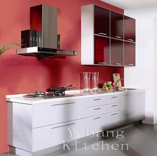 Foto de gabinete de cocina cocido al horno de la pintura - Pintura para cocinas ...