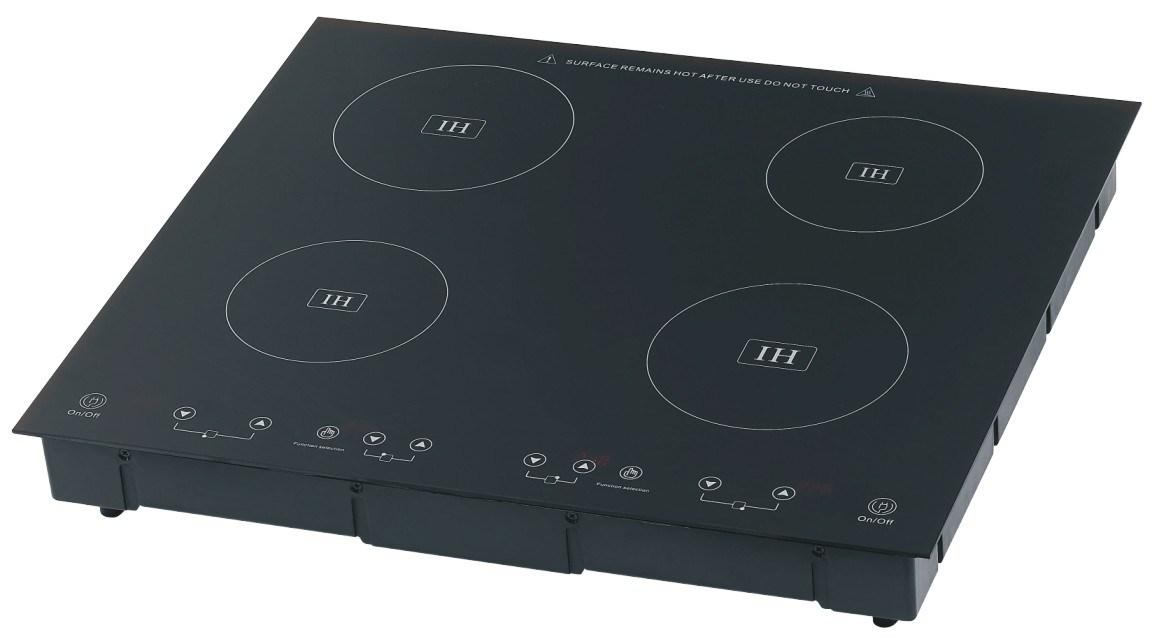 Cocina de la inducci n con 4 hornillas cocina de la - Cocina electrica de induccion ...