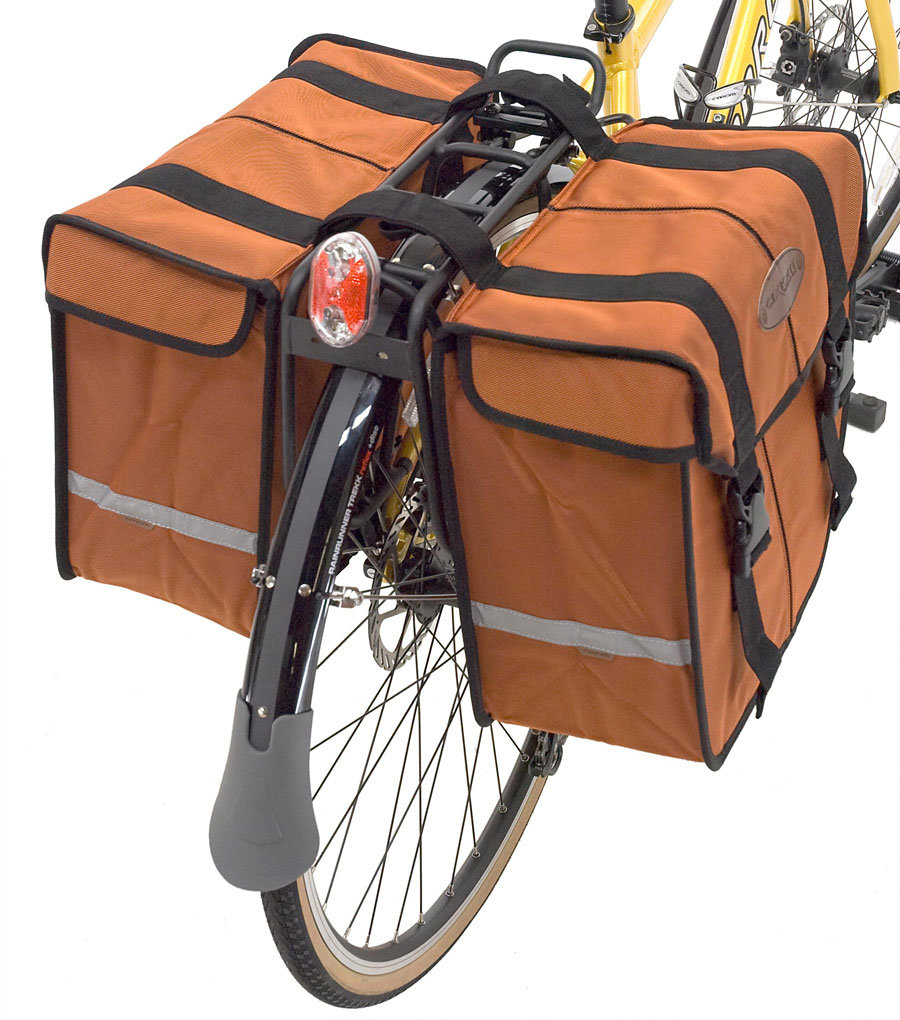 Сумки на велосипед багажник своими руками