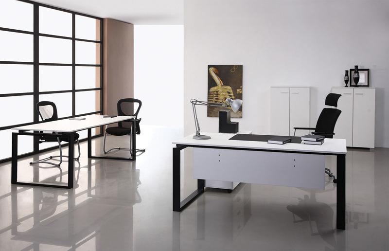 Escritorio de oficina de madera de los muebles for Lista de muebles de oficina