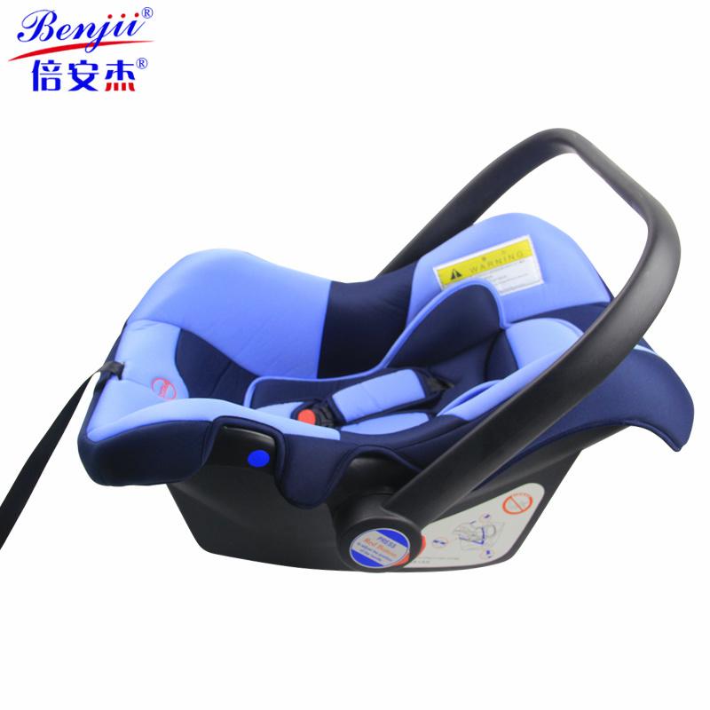Asiento de coche infantil de portador para el beb con la for Asientos infantiles coche