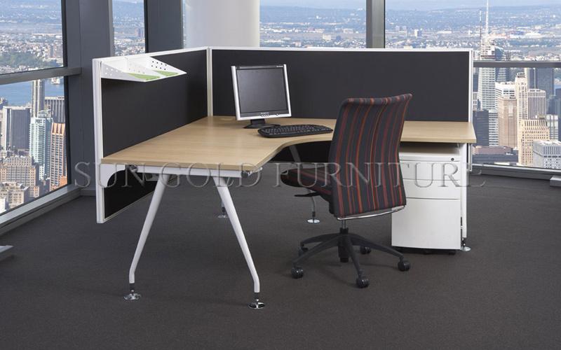 Foto de escritorio de oficina de madera de la melamina, vector ...