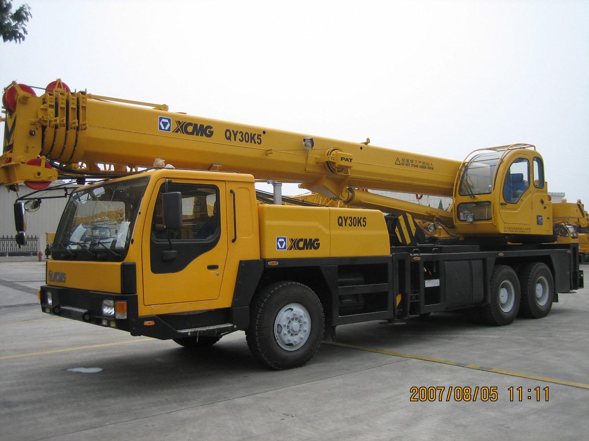 De nuttige lading van de kraan van de vrachtwagen 30 ton qy30k5 1 de nuttige lading van de - Vormgeving van de badkamer kraan ...