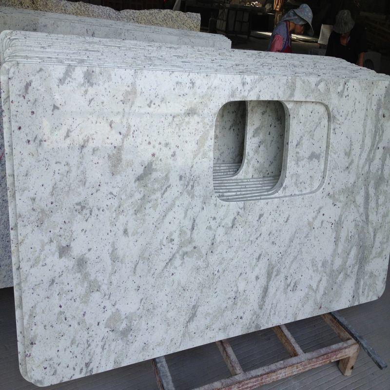 Tapa contraria del nuevo blanco de cachemira blanco de la for Granito blanco chino