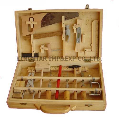 Juguetes de madera caja de herramientas sk007 - Herramientas de madera ...