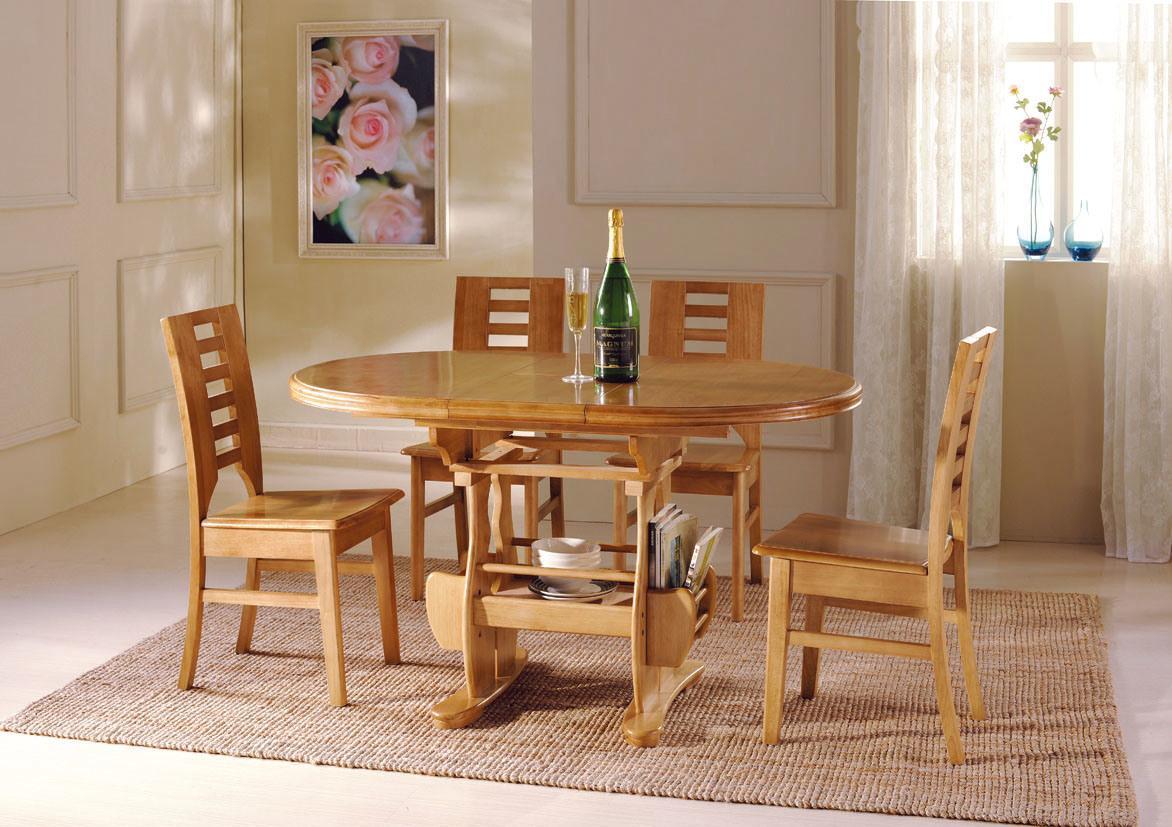 Tabella Pranzante/sedia Insieme Della Sala Da Pranzo Mobilia Di  #7C4422 1172 827 Misure Per Tavoli Da Pranzo