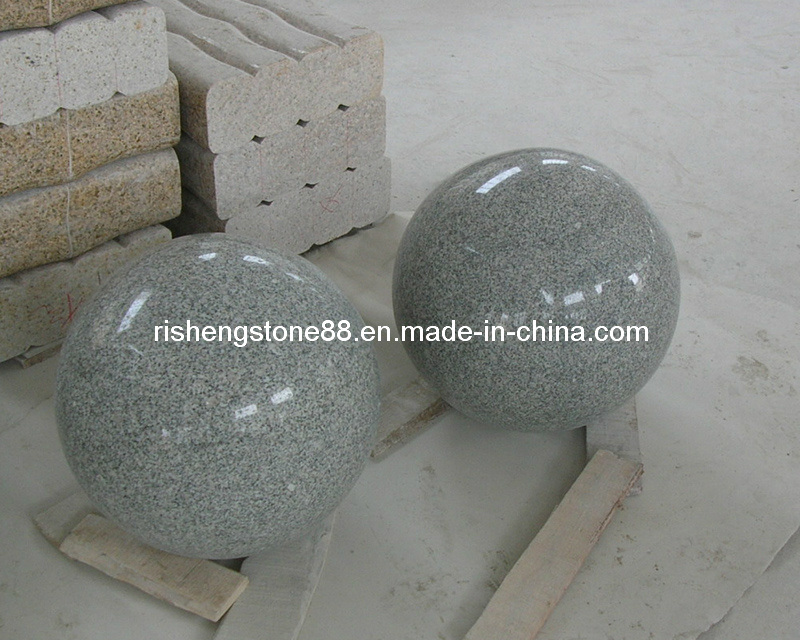 Boules en pierre boules de granit pierre d 39 ornement de for Decoration jardin boule pierre