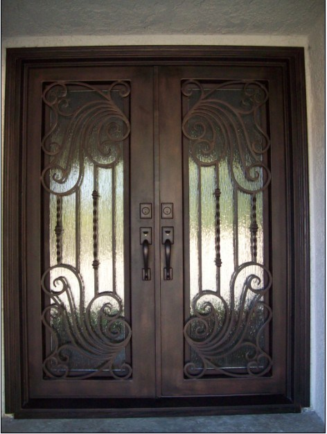 Puertas de entrada superiores cuadradas superiores del - Puertas de entrada de hierro ...