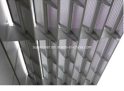 aluminum fixe sunshade pour facade aluminum fixe sunshade. Black Bedroom Furniture Sets. Home Design Ideas