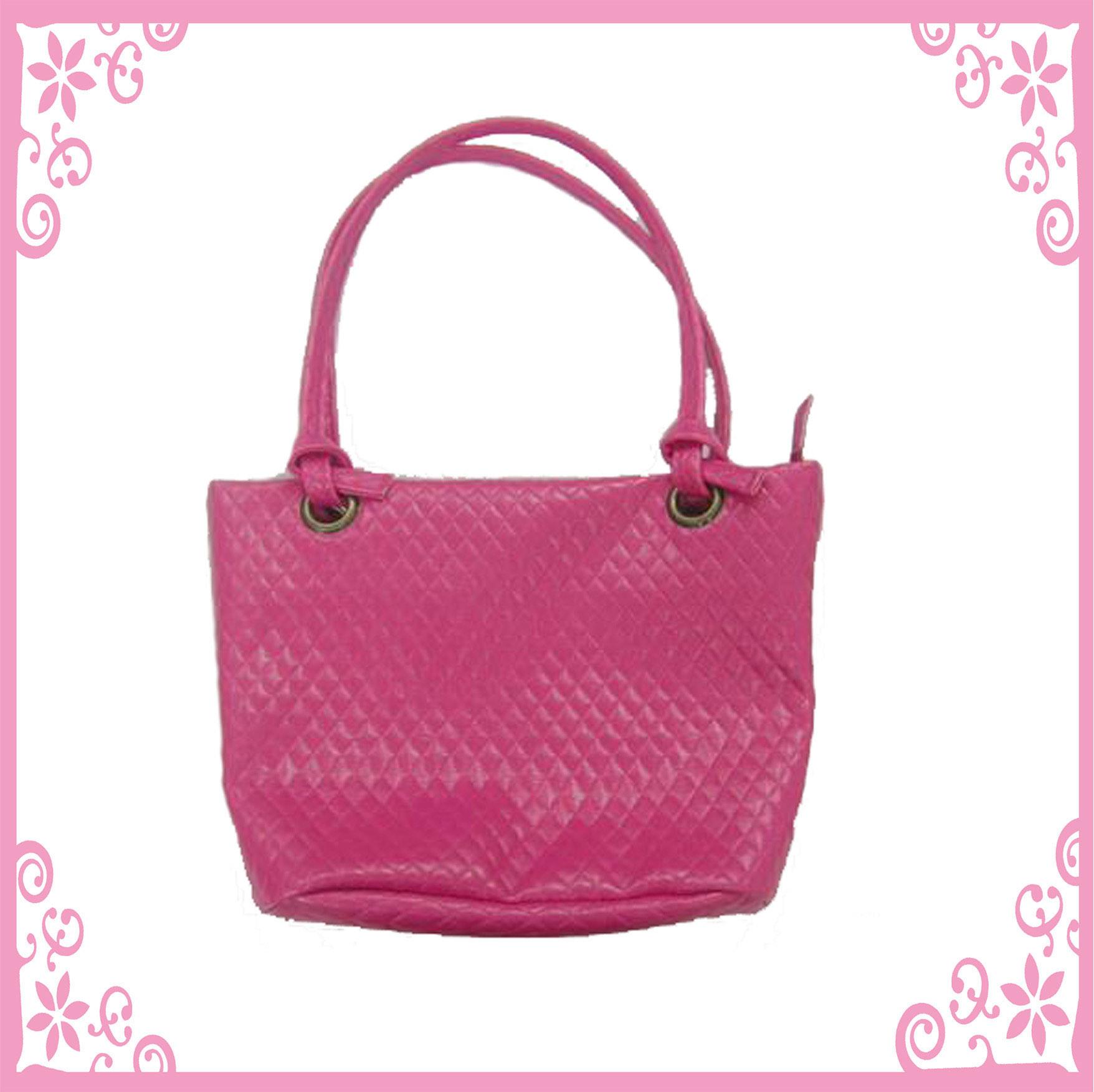 Bolsa De Mão Rosa Pink : Bolsa cor de rosa senhora