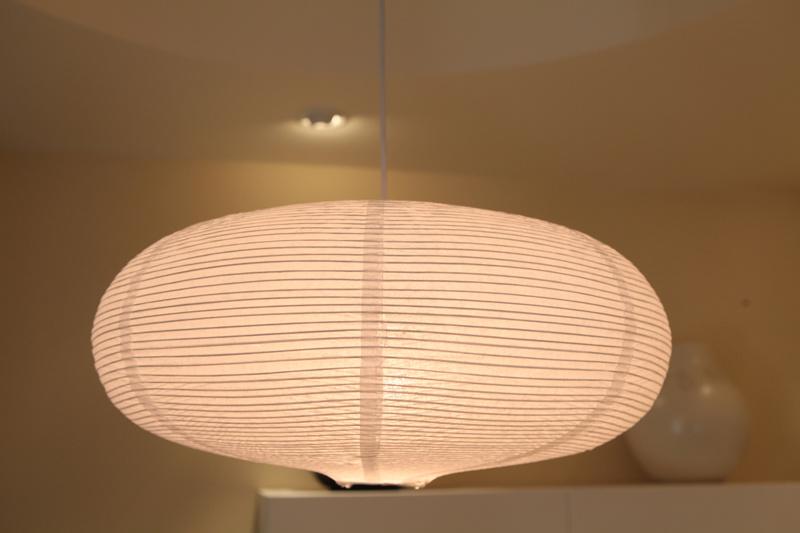 illuminazione ovali di carta della lanterna della lampada del soffitto di hl d009 ikea. Black Bedroom Furniture Sets. Home Design Ideas