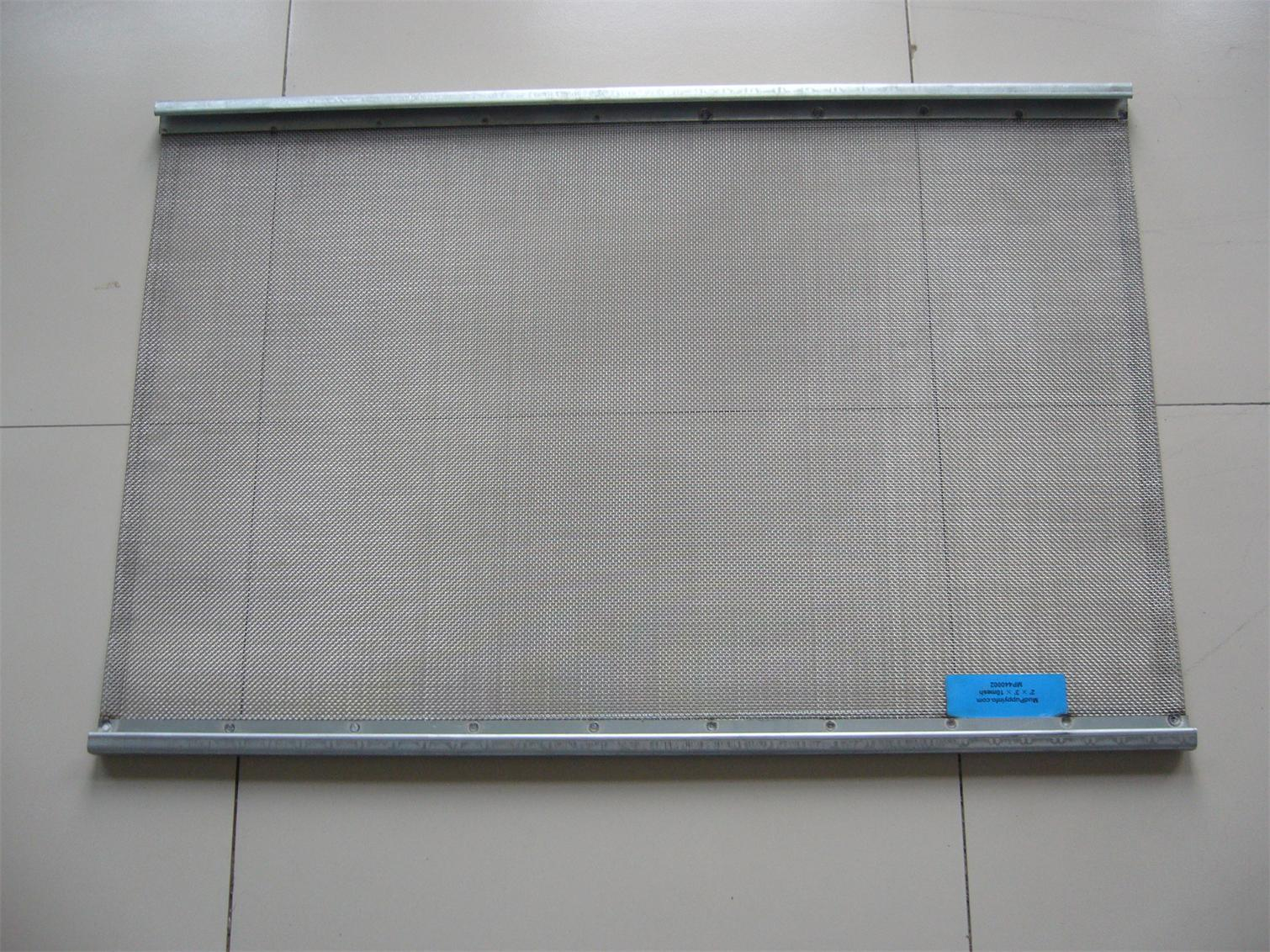 Placa tejida inoxidable del acoplamiento de alambre de - Placa acero inoxidable ...