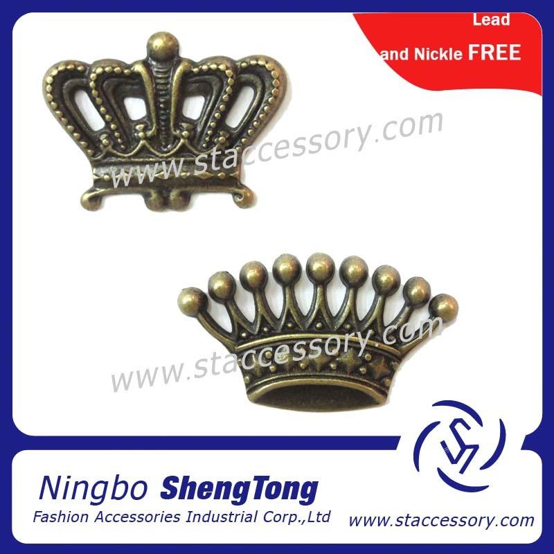 El metal de la forma de la corona de la joyer a de la for Metal rodio en joyeria