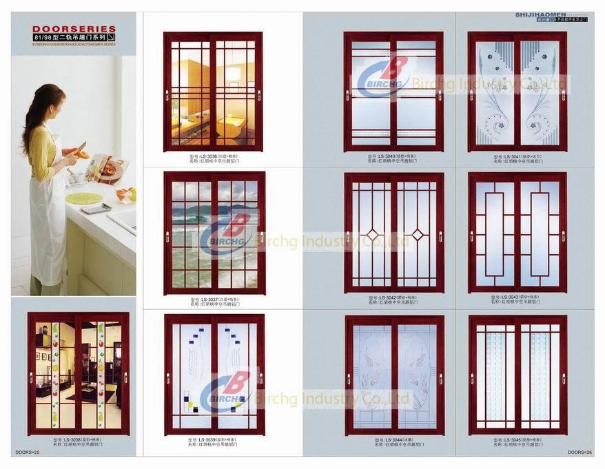 Porte en aluminium portes coulissantes de rails de 81 98 - Portes coulissantes aluminium ...