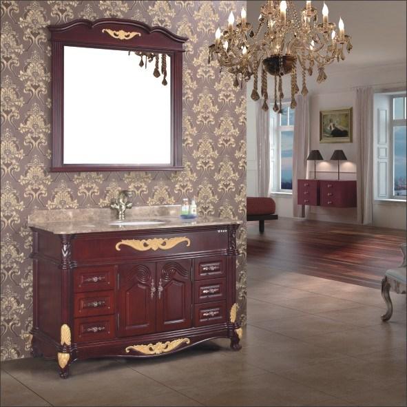 Vanit antique cabinets wl 5821 de salle de bains for Cabinet salle de bain