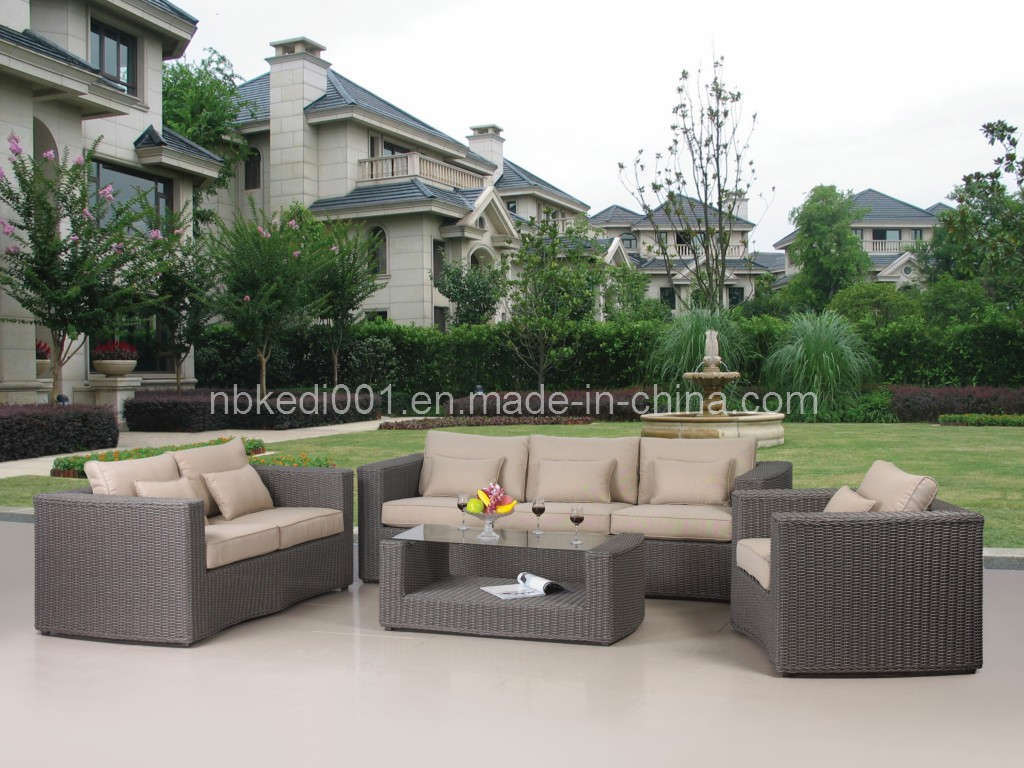 Meubles de patio de outdoor de jardin wicker rotin kdar for Meuble de patio