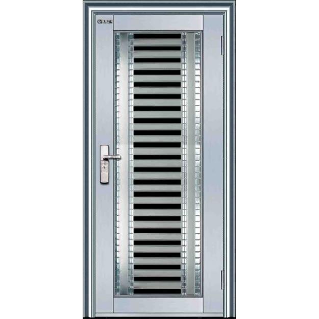 Foto de porta de a o inoxid vel bg ss9006 em pt made in for Ss door design