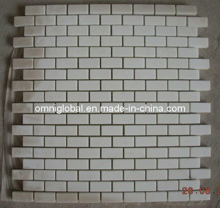 Mattonelle di pietra di marmo bianche pure del pavimento non ...