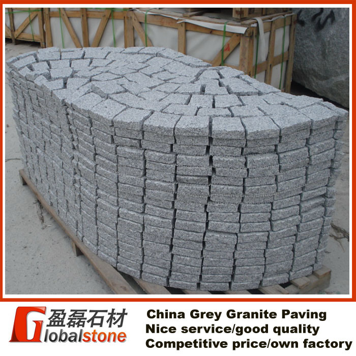 pav de granit gris de la chine pav de granit gris de la chine fournis par fujian yinglei. Black Bedroom Furniture Sets. Home Design Ideas