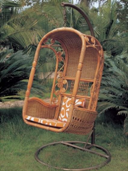 Silla colgante de la mueble rota al aire libre ly f011 - Silla colgante ...
