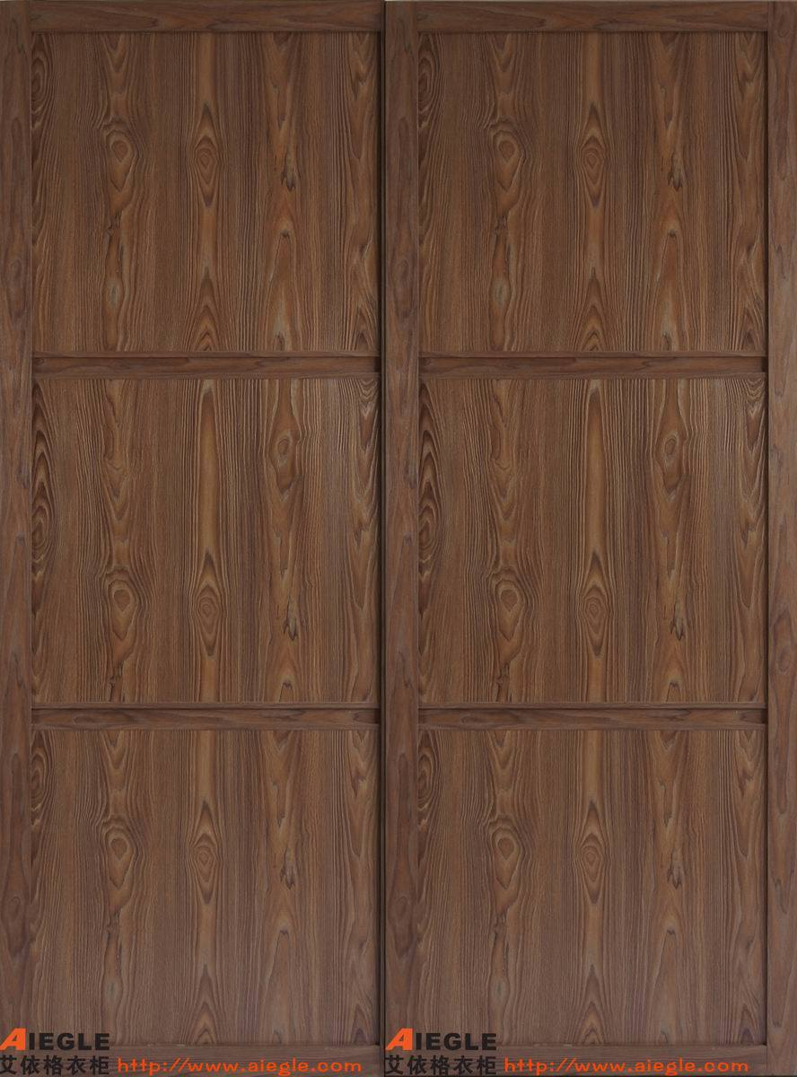 Placage moderne de meubles de chambre coucher glissant la porte de garde robe a sm02 for Modele de chambre a coucher simple