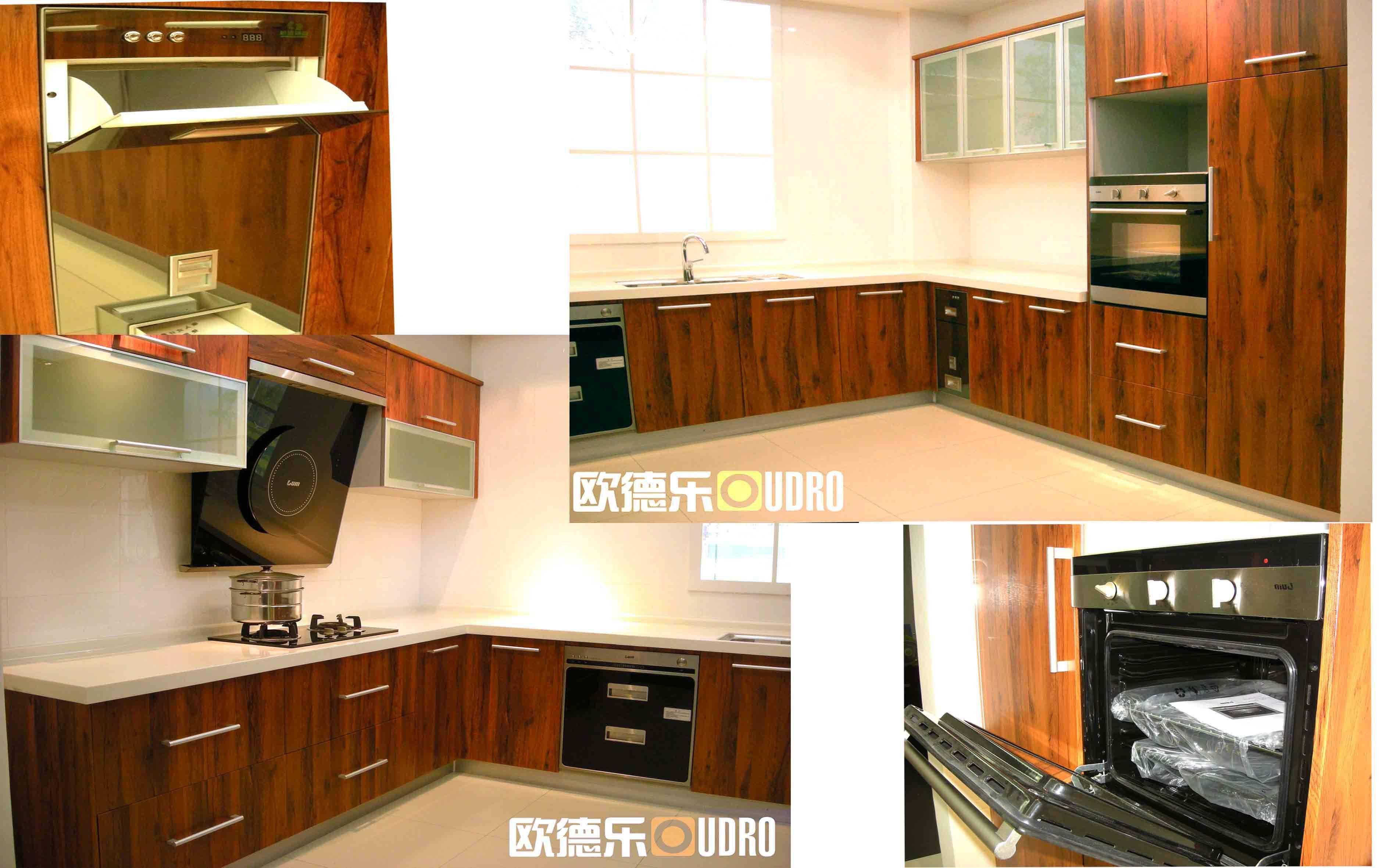 gabinete de cocina del panel de la puerta del pvc odr