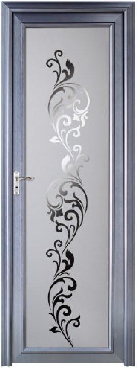 Puertas De Baño Aluminio:Puerta Para Baño En Aluminio Negro Blanco Natural Y Dorado Con Vidrio
